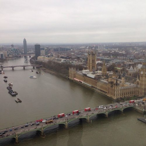 Houses of Parliament from London Eye